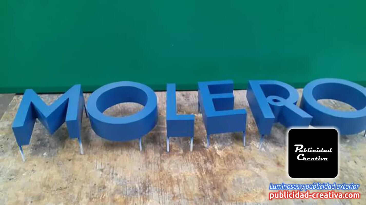 Logos y letreros 3D de aluminio